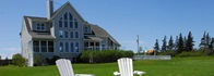 Your PEI Vacation Rentals and Cottages offers the waterfront rental Blue Heron with amazing views of the New Lodon Bay and Cavendish Sand Dunes